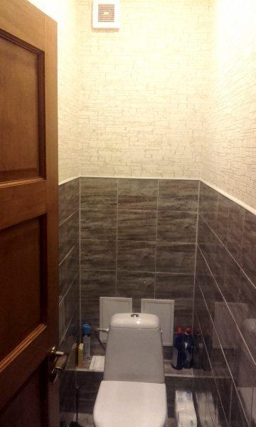 Flizesanas darbi vannas istaba.