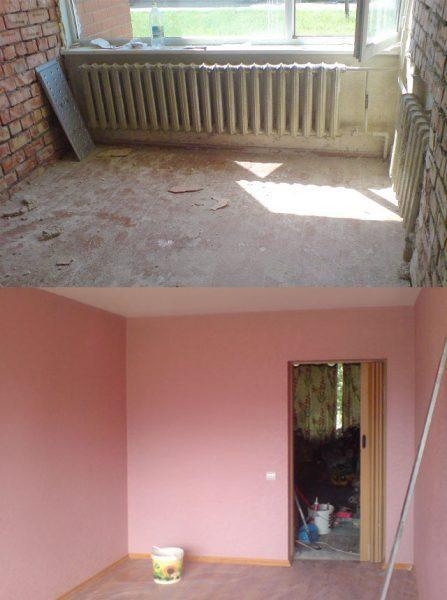Kapitālais remonts dzīvoklī, sienu krāsošana, tapešu līmēšana, durvju un logu montāža