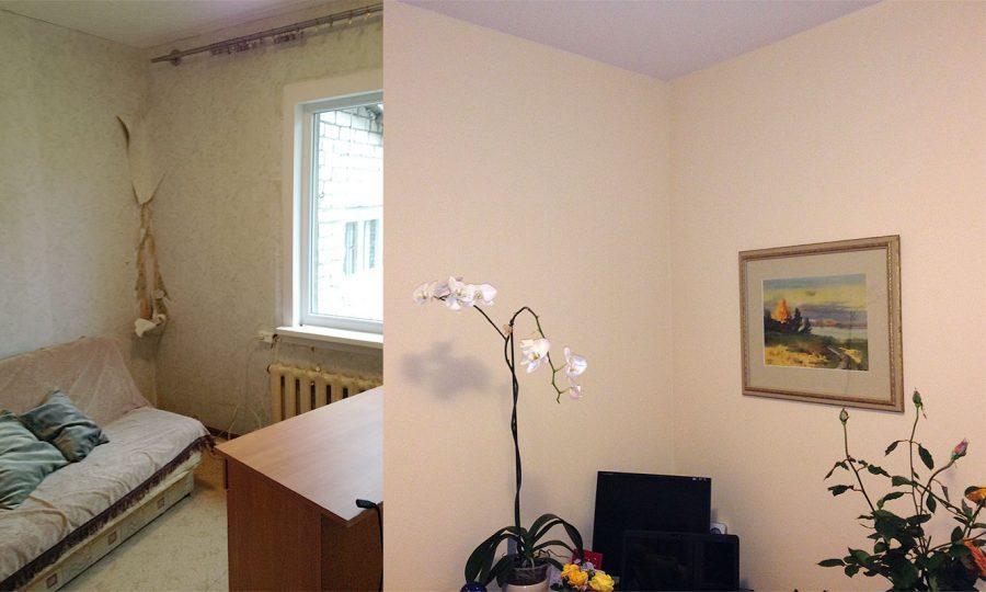Darbs ar reģipsi, sienu un griestu slīpēšana, krāsošana, lamināta ieklāšana, durvju montāža