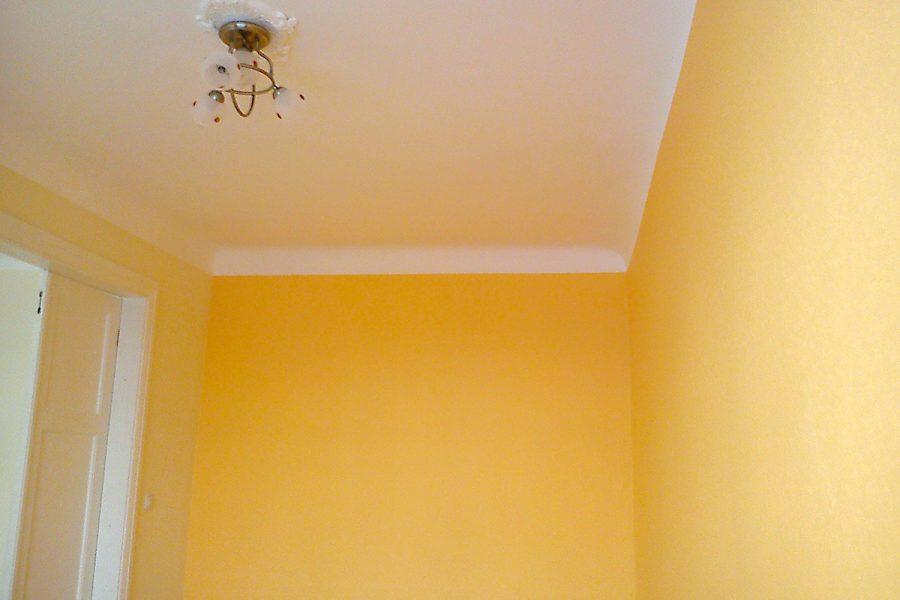 Griestu krāsošana, sienu krāsošana, tapešu līmēšana
