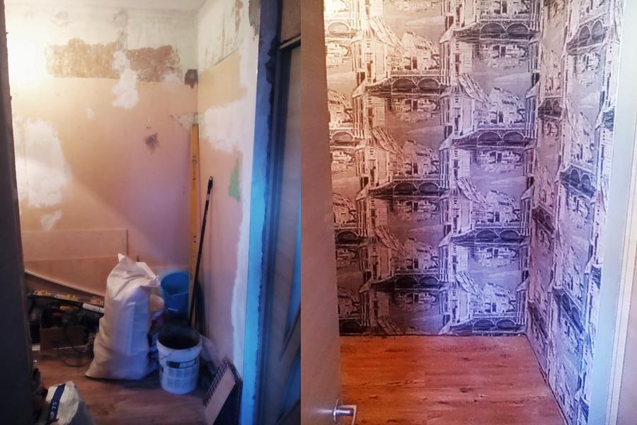 Pelējuma likvidēšana. Krāsošana, slīpēšana, špaktelēšana, kvalitatīvs remonts daudzzīvokļu namā